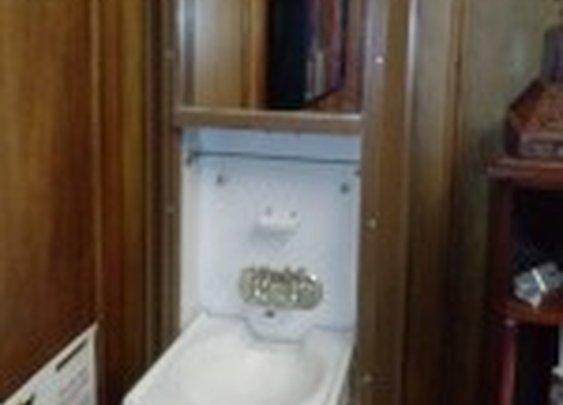 Prohibition Era Secret Sink Hidden Behind Mirror | StashVault