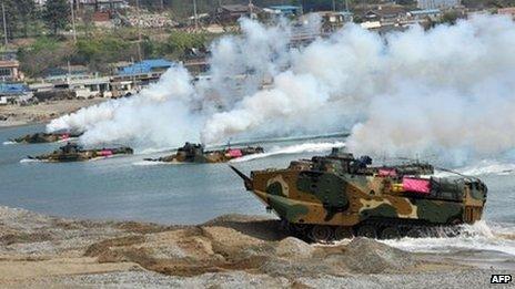 BBC - Doomsday scenario plan would divide North Korea