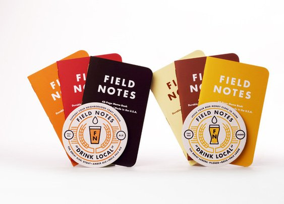 Petaluma Supply Co. - Field Notes - Drink Local Edition ALES