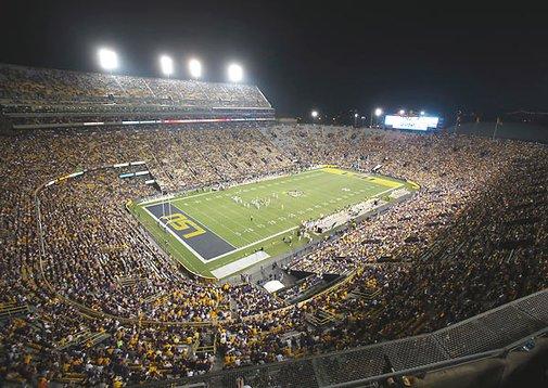 NCAA ranks LSU's Death Valley loudest college stadium | Campus Union - SI.com