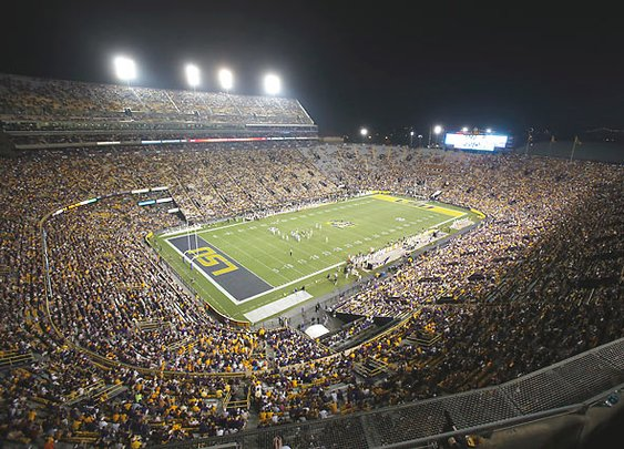 NCAA ranks LSU's Death Valley loudest college stadium | Campus Union - SI.com