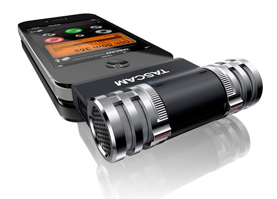Tascam iM2 - capturing stereo sound on your phone