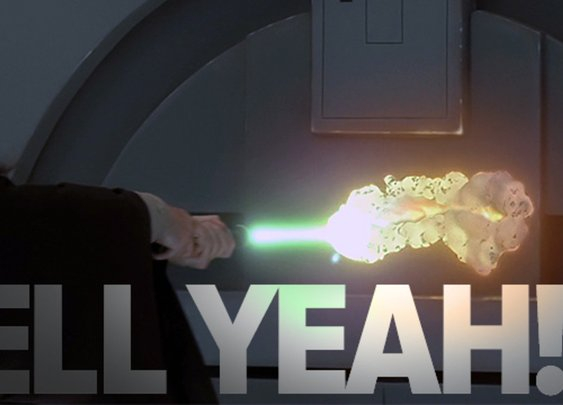 Scientists discover a way to make real life lightsabers