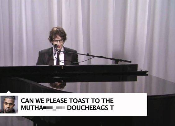 Josh Groban Sings Kanye West Tweets - YouTube