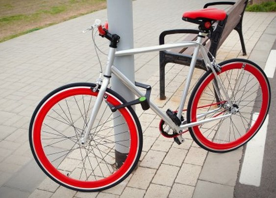 Foldylock takes a new approach to the folding bike lock