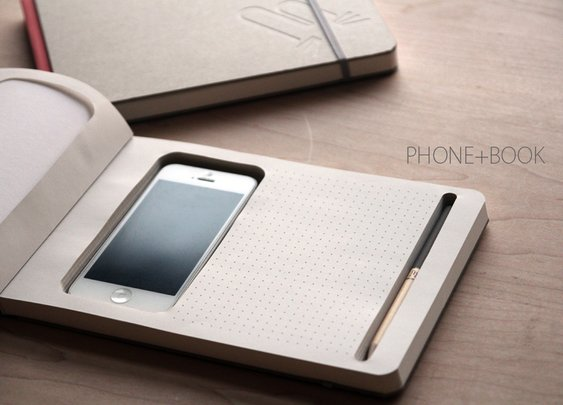 Phone + Book | The Coolector