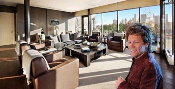 Inside $ 39M Jon Bon Jovi's NYC Penthouse