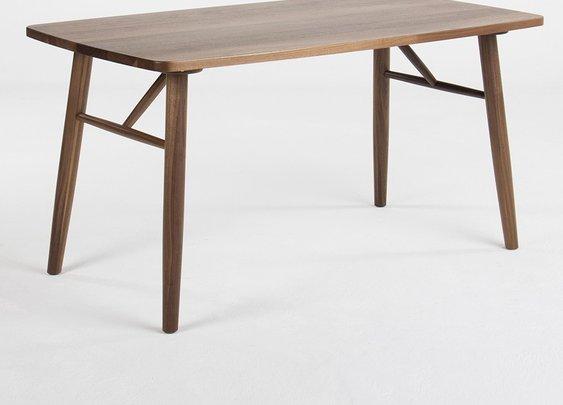 """HOKKAIDO WALNUT DINING TABLE 55"""""""