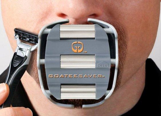 Goateesaver - The Goatee Shaving Template