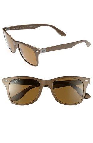 'TECH Liteforce - Wayfarer' Polarized Sunglasses