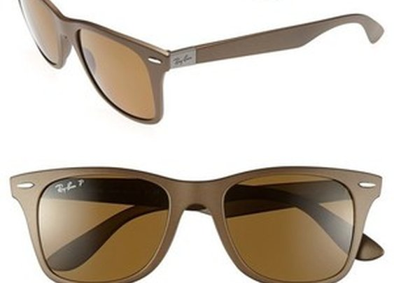 'TECH Liteforce - Wayfarer' Polarized Sunglasses
