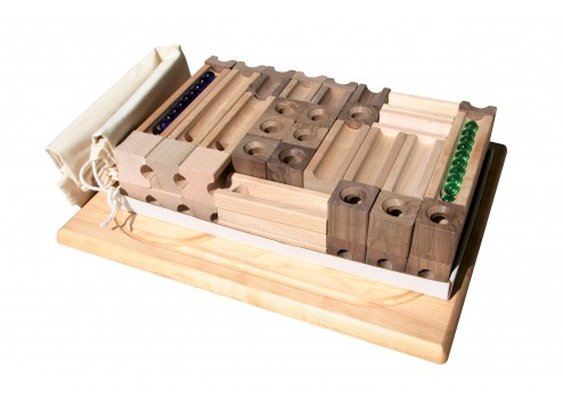 Made In Usa Blocks And Marbles - TEDCO Toys Original Blocks and Marbles - Master Set