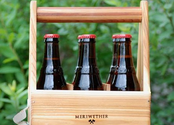 Classic Six Pack Carrier | Home Kitchen & Pantry | Meriwether of Montana | Scoutmob Shoppe | Product Detail