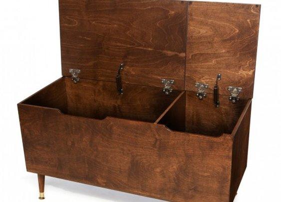 Gracie Walnut Stain Toy Box