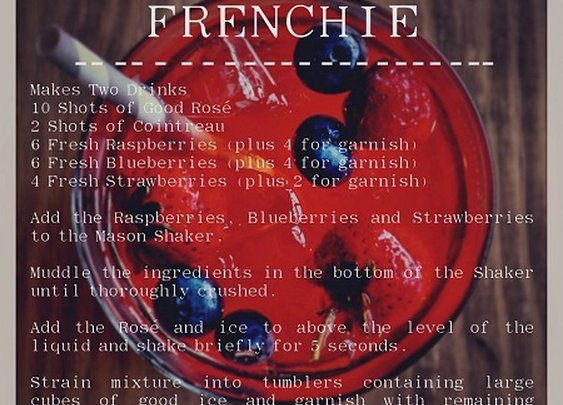 The Frenchie Cocktail