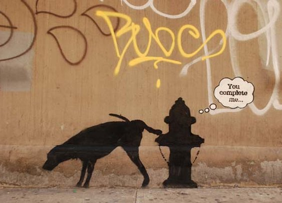 Banksy in New York pictures: Better Out Than In