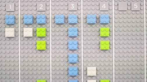 Lego calendar by Vitamins