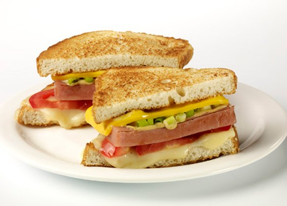 SPAM® Grilled Cheese Heroes | SPAM® Recipes | SPAM