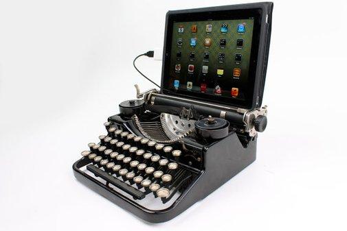 USB Typewriter Computer Keyboard