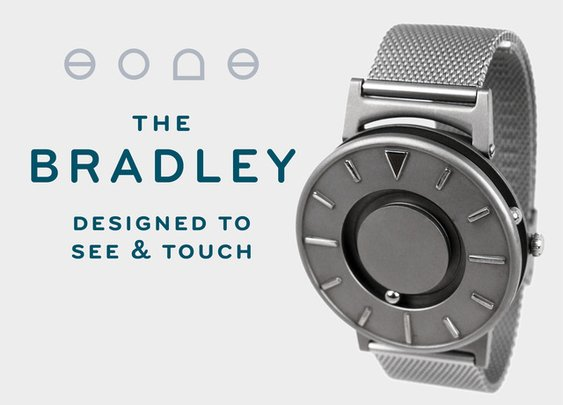 The Bradley: A Timepiece Designed to Touch and See by Eone Timepieces — Kickstarter
