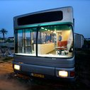 Run-Down City Bus Converted to Chic Custom DIY RV