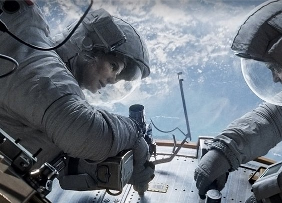 Gravity - A Non-Review : 101 or Less