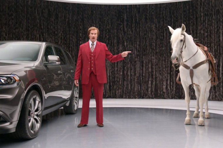 Ron Burgundy Dodge Durango | The Coolector