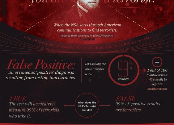 Does The NSA Think You Are A Terrorist?