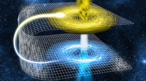 Quantum black hole study opens bridge to another universe