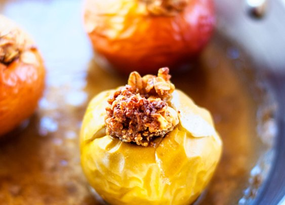 Quinoa Baked Apples - Cooking Quinoa