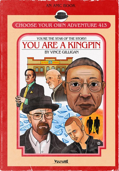 Breaking Bad Choose Your Own Adventure Books | The Coolector