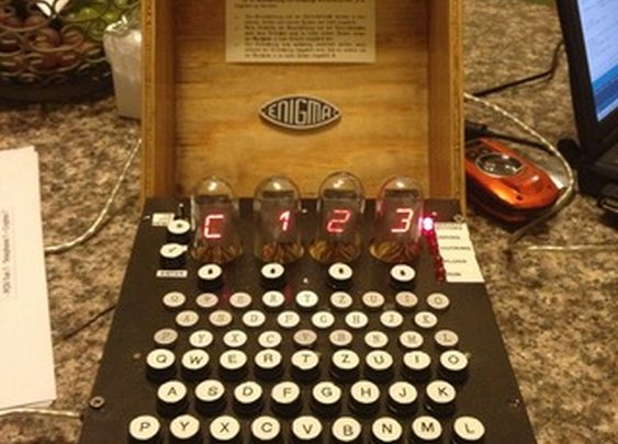 Make your own Enigma Replica