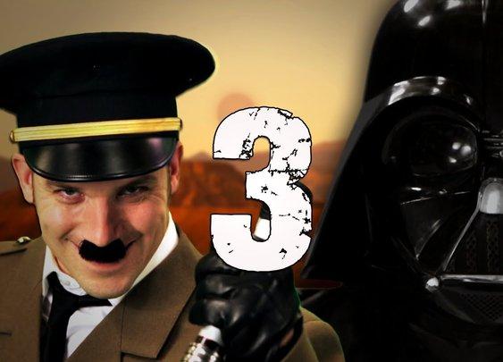 Epic Rap Battles of History Season 3 - Hitler vs Vader 3