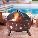 Big Sky Stars and Moons Firepit - BonjourLife
