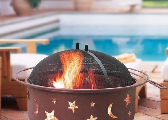 Big Sky Stars and Moons Firepit - BonjourLife