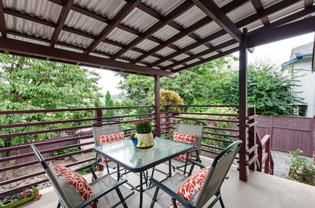 Enjoy those BBQ's all year round on the covered cedar deck.