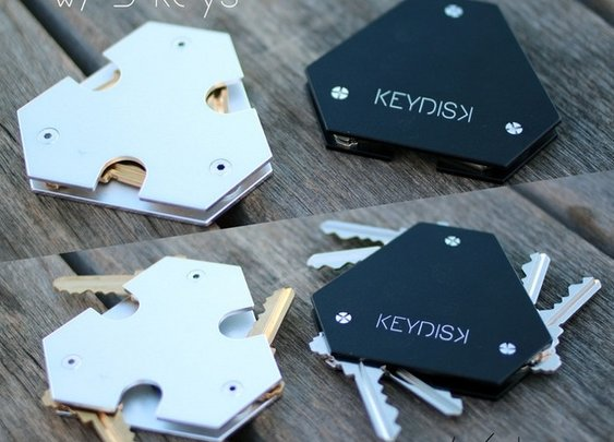 KeyDisk Key Holder