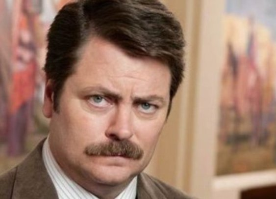 Nick Offerman writes about getting to work with  Sam Elliott