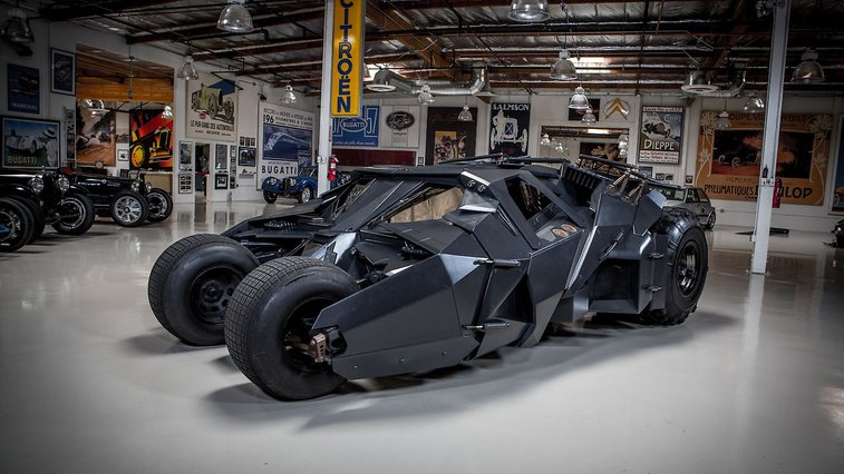 Batman's Tumbler   Jay Leno's Garage