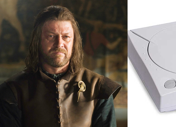 Game of Thrones Characters as Video Game Consoles