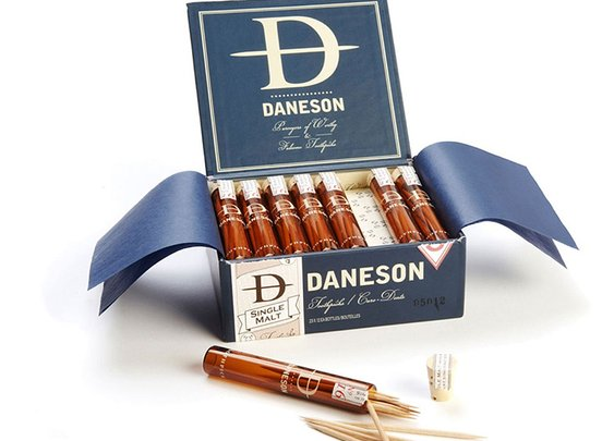 If It's Hip, It's Here: Chew On This: Upscale Flavored Toothpicks From Daneson Include 200 Year Old Single Malt Scotch.