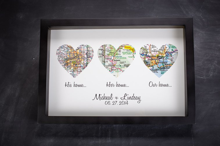 Atlas Map s Print | Wedding Gift | Define Design 11 | Bourbon ... on