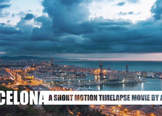 BARCELONA. MOTION TIMELAPSE on Vimeo
