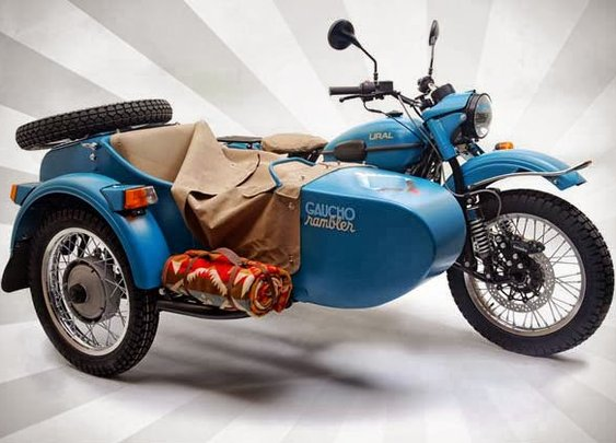 2013 URAL X PENDLETON GAUCHO RAMBLER SIDECAR MOTORCYCLE