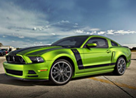 Customize Your Own 2013 Mustang