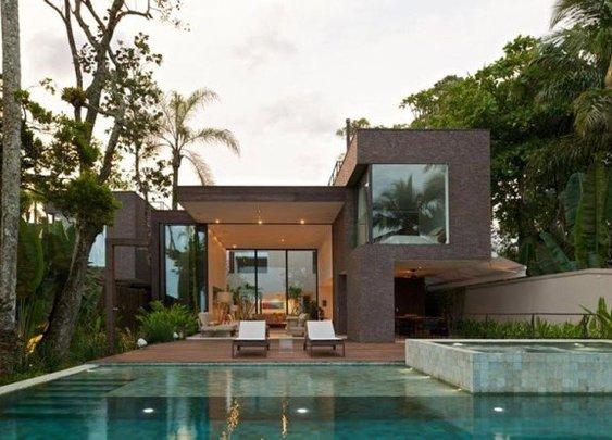 Modern Minimalist Residence Inspiration From Arthur Casas Studio, The Baleia House