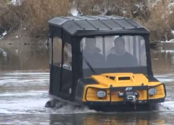 ARGO 8x8 XTI tackles the toughest lands (and waters) on Earth