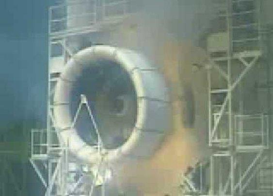 Jet Engine Explosion - YouTube