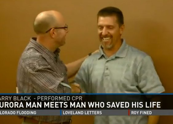 Good Samaritan Saves a Man's Life