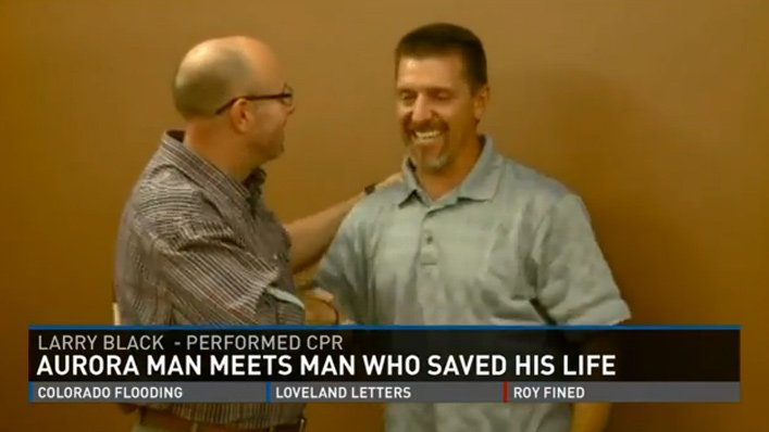 Good Samaritan Saves a Man's Life